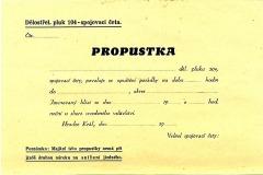 Delostrelecky-pluk-104-Hradec-Kralove-propustka