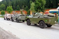Špindlerova bouda BRDM-2 radiostanice OK1PM Krkonoše